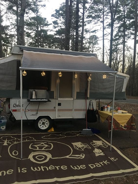 tips for put up the RV camper tent