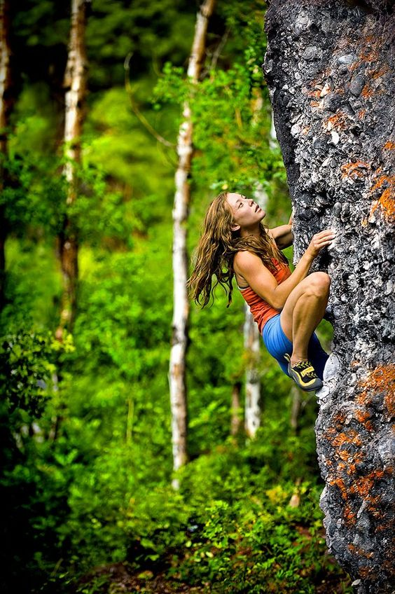 How to go rock climbing alone?