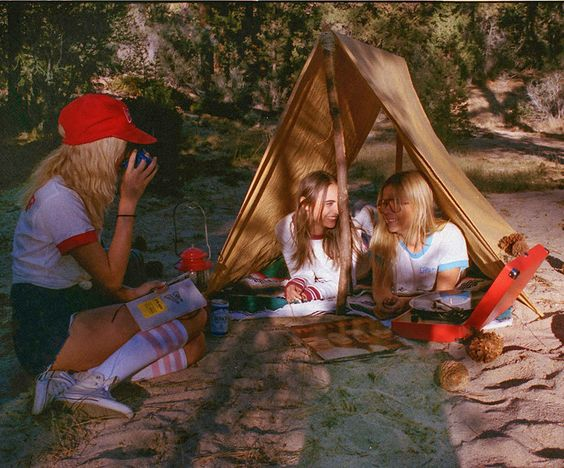 how old you have to go camping withouot parents